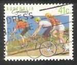 Sellos de Oceania - Australia -  Cycling