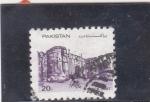 Stamps Pakistan -  fortaleza