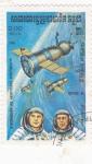 Sellos del Mundo : Asia : Camboya : aeronautica- Soyuz 8
