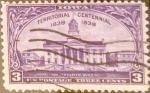 Sellos de America - Estados Unidos -  Intercambio 0,20 usd 3 cent. 1938