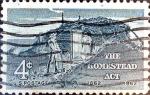 Sellos de America - Estados Unidos -  Intercambio 0,20 usd 4 cent. 1962