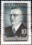 Stamps : Europe : Finland :  Intercambio 0,50 usd 10 m. 1947