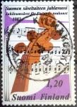 Stamps : Europe : Finland :  Intercambio 0,25 usd 1,20 m. 1982
