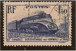 Stamps Europe - France -  Trenes - Paris