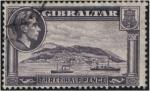 Sellos de Europa - Gibraltar -  Vista del Peñón