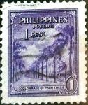 Stamps Philippines -  Intercambio 0,35 usd 1 p. 1947