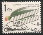 Stamps Czechoslovakia -  Harrachov 1983-Campeonatos del Mundo 1983