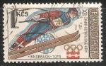 Sellos de Europa - Checoslovaquia -   XII.zimní OH Innsbruck 1976-Juegos Olímpicos de Invierno 1976