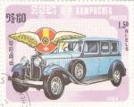 Stamps Cambodia -  coche de epoca- Hispano -Suiza