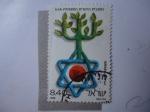 Stamps Israel -  UJA - Unidad Judía. Jewish Apeal.