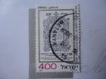 Sellos de Asia - Israel -  Zefat Printing House. Imprenta Zefat.