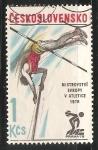 Sellos de Europa - Checoslovaquia -  Mistrovstvi Evropy v Atletic 1978-Campeonato Europeo de Atletismo