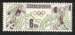 Stamps Czechoslovakia -  Campeonato Europeo de Atletismo