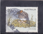 Stamps : Europe : Australia :  ave- little grebe