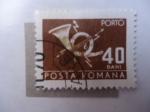 Stamps : Europe : Romania :  Porto - Posta Romana (Scott//Ru:2371)