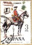 Sellos del Mundo : Europa : España : UNIFORMES - Regimiento de la Reina 1763