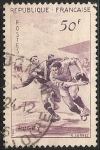 Stamps France -  Rugby