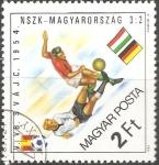 Sellos de Europa - Hungría -  Copa del Mundo 1954 Suiza