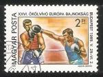 Sellos de Europa - Hungría -  Campeonato de Boxeo Amateur