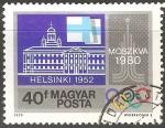 Sellos de Europa - Hungría -  Juegos Olímpicos de Helsinki 1952