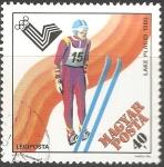 Stamps Hungary -  Juegos Olímpicos de Lake Placid 1980