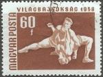 Sellos de Europa - Hungría -  1958 Campeonato de Hungría internacionales y europeas, Budapest
