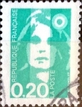 Stamps France -  Intercambio 0,20 usd 0,20 fr. 1991