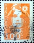 Stamps : Europe : France :  Intercambio jn 0,20 usd 1,00 fr. 1990