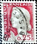 Stamps France -  Intercambio 0,20 usd 0,25 fr. 1960