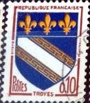 Sellos de Europa - Francia -  Intercambio 0,20 usd 0,10 fr. 1962