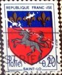 Sellos de Europa - Francia -  Intercambio 0,20 usd 20 cent. 1966