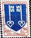 Sellos de Europa - Francia -  Intercambio jxn 0,20 usd 25 cent. 1966