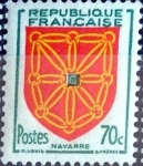 Stamps France -  Intercambio 0,25 usd 70 cent. 1954