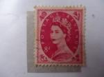 Stamps United Kingdom -  Reina, Elizabeth II.