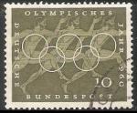 Sellos de Europa - Alemania -  Juegos Olímpicos de Roma 1960