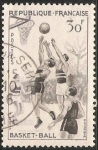 Sellos de Europa - Francia -  Basket-ball