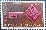 Stamps France -  Intercambio 0,30 usd 0,60 fr. 1968