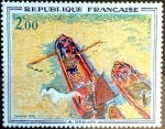 Stamps : Europe : France :  Intercambio jcpf 3,50 usd 2,00 fr. 1972