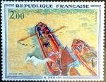 Sellos del Mundo : Europa : Francia : Intercambio jcpf 3,50 usd 2,00 fr. 1972