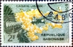 Stamps : Africa : Gabon :  Intercambio 0,20 usd 2 fr. 1961