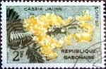 Stamps : Africa : Gabon :  Intercambio crxf 0,20 usd 2 fr. 1961