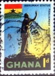 Stamps : Africa : Gabon :  Intercambio 0,20 usd 1 p. 1959