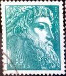 Sellos de Europa - Grecia -  Intercambio 0,20 usd 50 lepta 1959