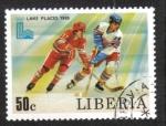 Stamps Liberia -  Juegos Olímpicos de Invierno 1980 , Lake Placid