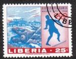 Sellos de Africa - Liberia -  Juegos Olímpicos 19 , Ciudad de México
