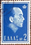 Sellos de Europa - Grecia -  Intercambio 0,20 usd 2 dracmas 1964