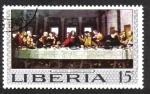Sellos de Africa - Liberia -  Pinturas