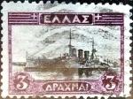 Sellos de Europa - Grecia -  Intercambio 0,30 usd 3 dracmas 1927