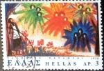 Sellos de Europa - Grecia -  Intercambio crxf 0,20 usd 3 dracmas  1978