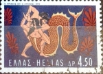Sellos de Europa - Grecia -  Intercambio 0,20 usd 4,50 dracmas 1970